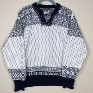 Dale of Norway Sweater Fair Isle Pullover Small S